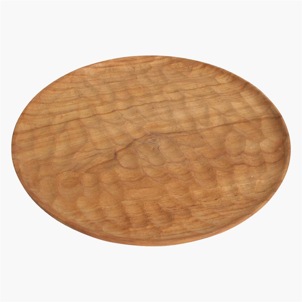 Aeolian round plate small