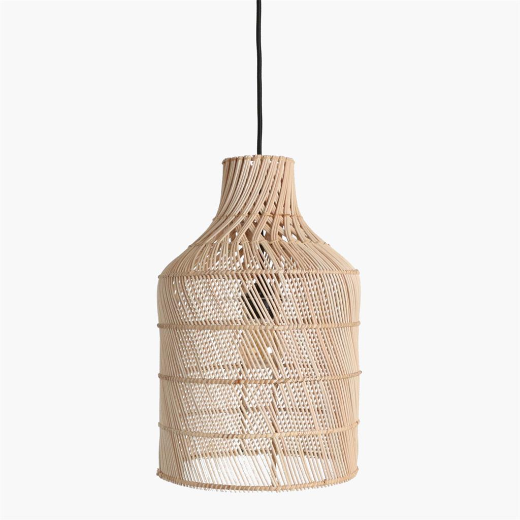 Maze lamp bottle natural large