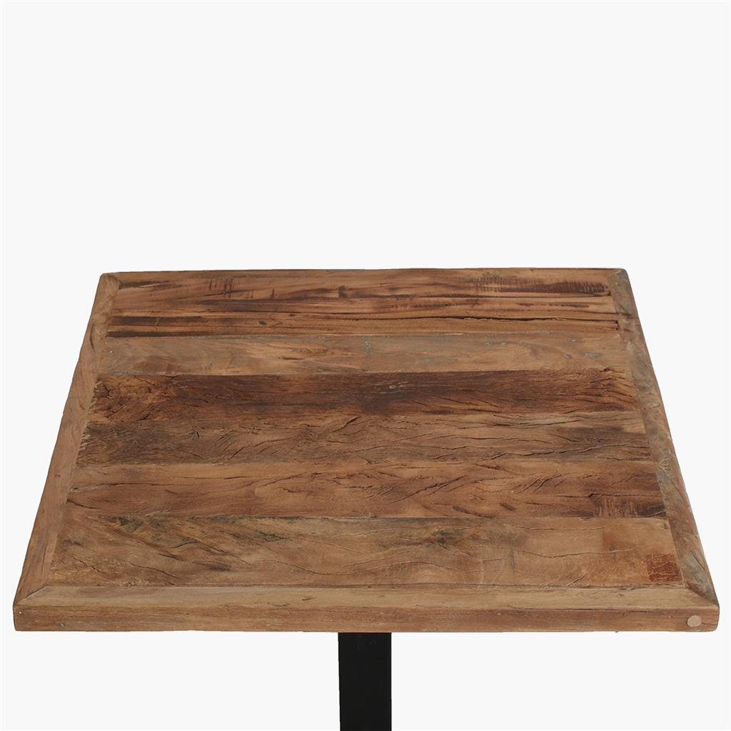 Farmwood table top 70x70 cm