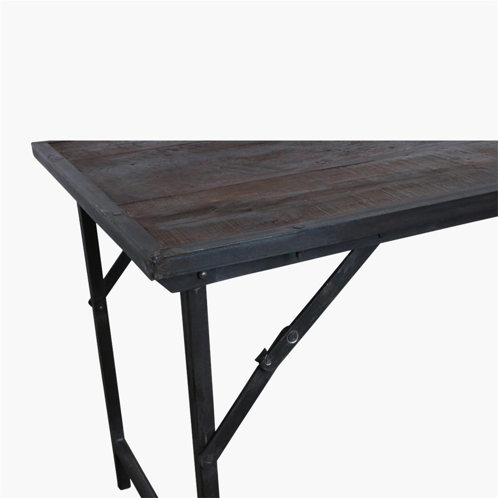 Picture of: Factory Market Table Iron Legs Raw Materials Amsterdam