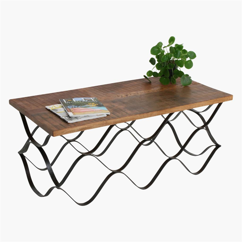 Factory wave coffeetable rectangle