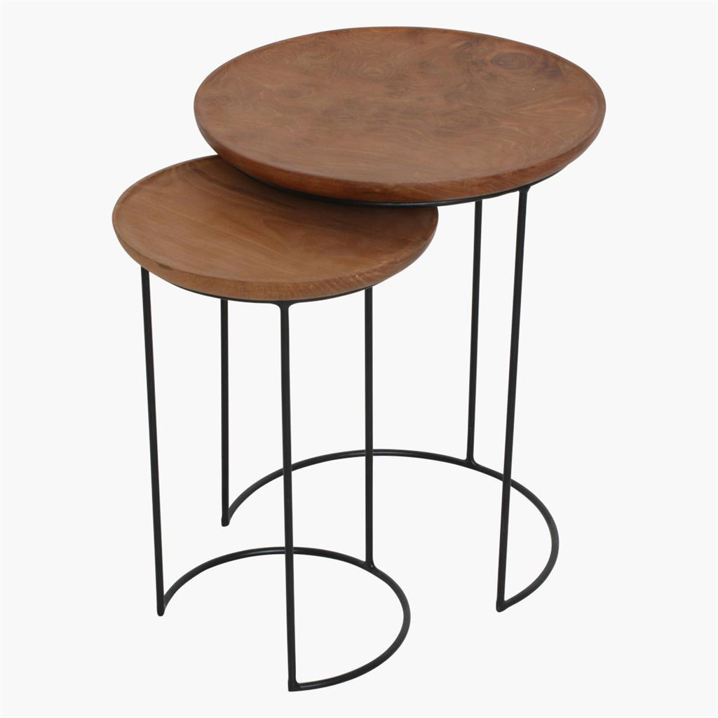 Loft nesting sidetable set/2