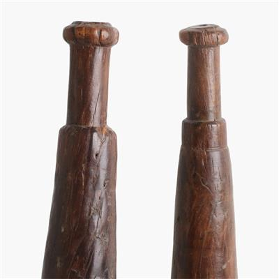 Pair of wrestling sticks