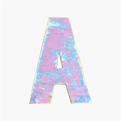 Boatwood letter A