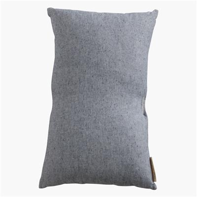 Cushion cover rectangular light blue