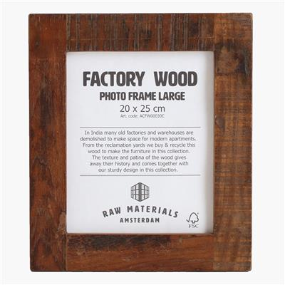 Factory photo frame large