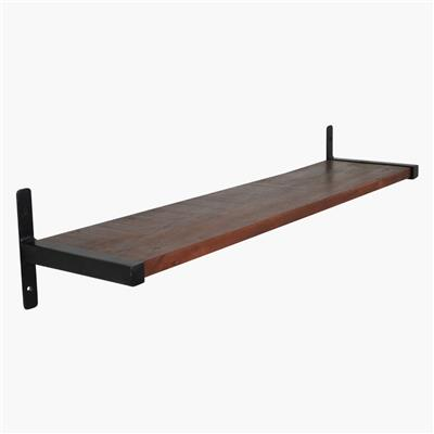 Factory wall shelf 80 cm T-profile