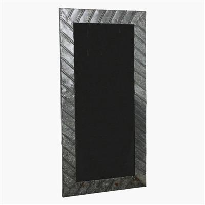 Blackboard iron frame