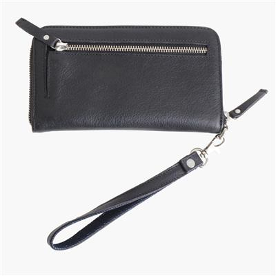 Zip wallet big antracite