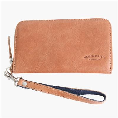 Zip wallet big camel
