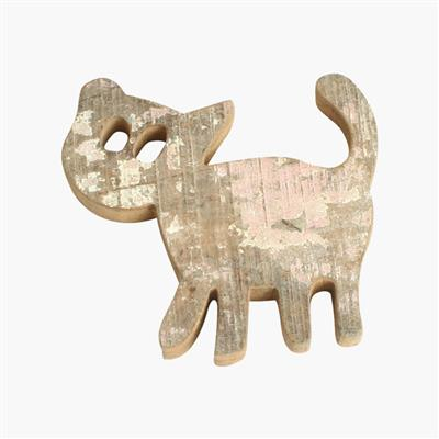 Scrapwood animal, cat