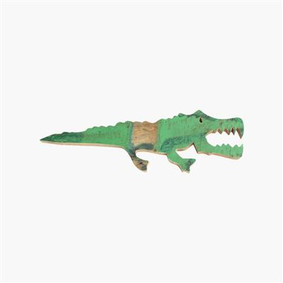 Scrapwood animal, crocodile