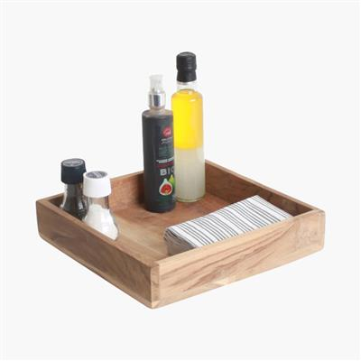 Elements square tray medium
