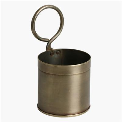 Brass vegetable holder single