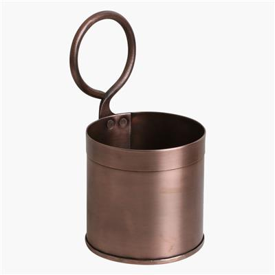 Copper vegetable holder single
