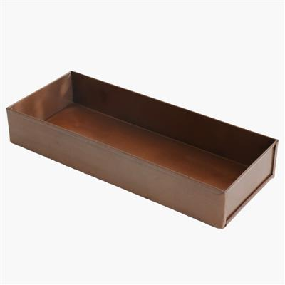 Pen tray antique copper finish