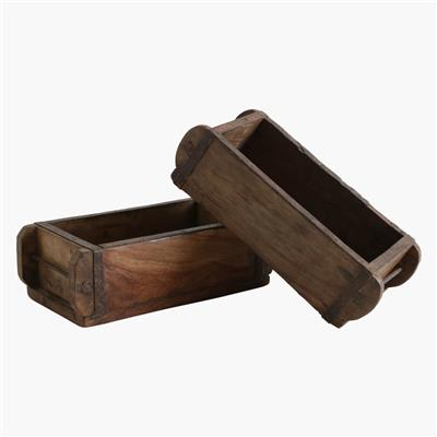 Wooden brick mould single
