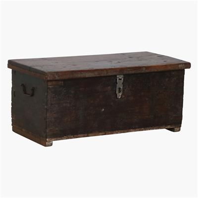 Black shisham wood chest