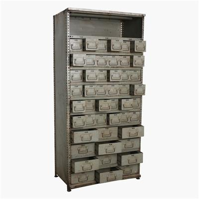 Iron multidrawer cabinet