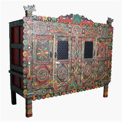 XL colorfull damachia cabinet