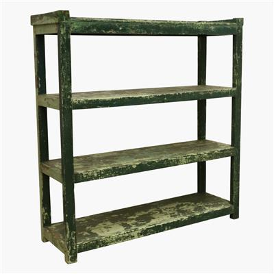 XL green rack 4 shelves