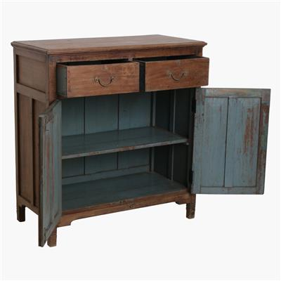 Burma teak 2 door sideboard + 2 drawers