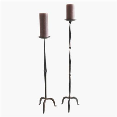 Iron candle stand 90 cm