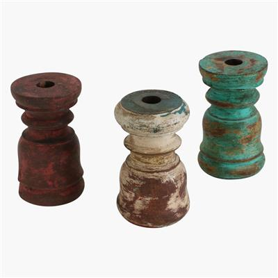 Candle holder mix colour