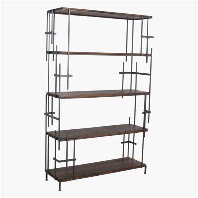 Factory art deco open bookcase