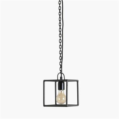 Square hanging lamp