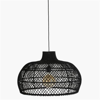Maze lamp black large
