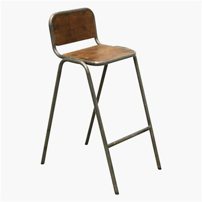 Factory stackable bar chair backrest