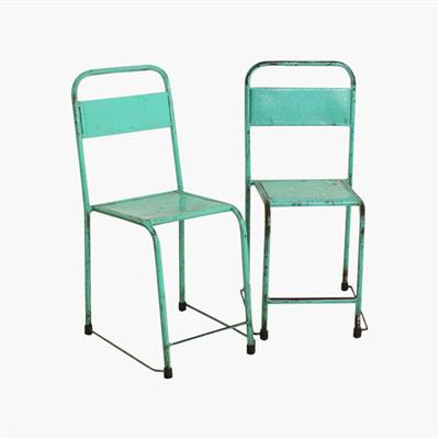 Java iron chair turquoise