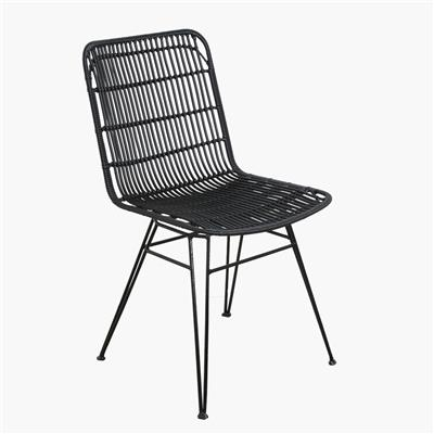 Jane outdoor chair black