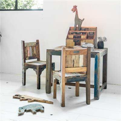 Scrapwood children chair