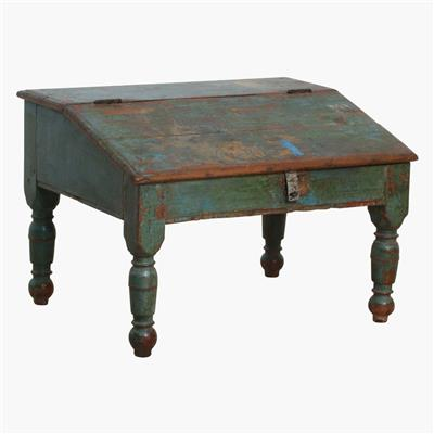 Blue/green original writing desk