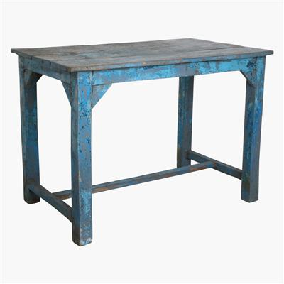 Blue/grey factory table