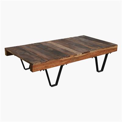Factory pallet cart table