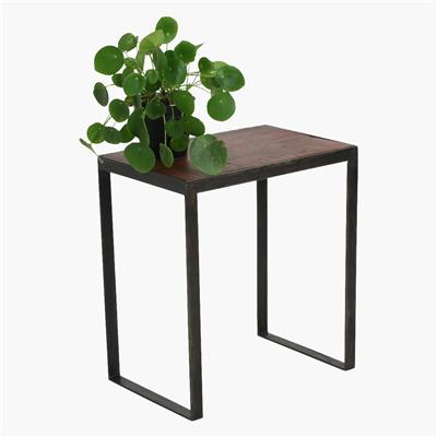 Factory sidetable metal frame