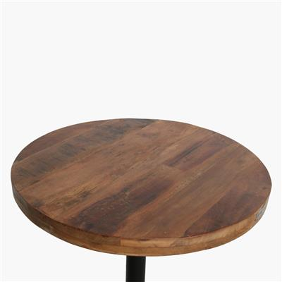 Factory table top round thick edge Ø70cm