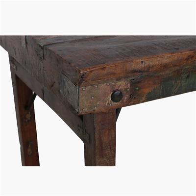 Market table brown