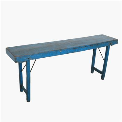 Console table full blue
