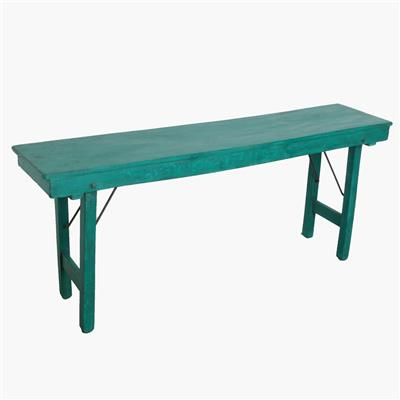 Console table full dark green